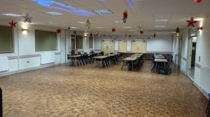 Complete Hall for up to 150 people